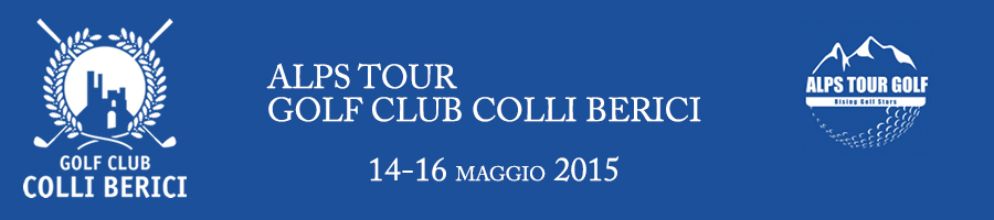<p>Alps Tour 2015 - Colli Berici Golf Club   </p>