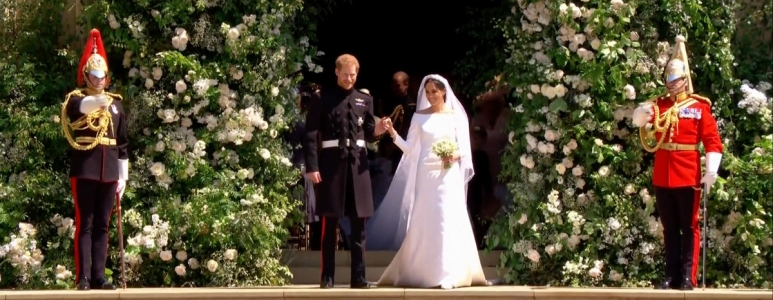 Royal Wedding of Harry and Meghan.